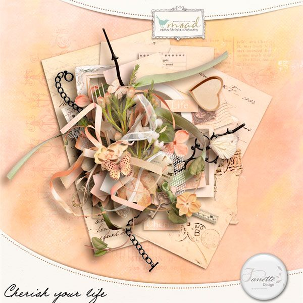 Cherish your life [fdesign_k_cyl] - €3.70 : My Scrap Art Digital, Passion for Digital Scrapbooking