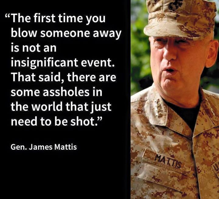 General Mattis Quotes Amusing General Mattis  Httpifttt1Hqjd81  Americana Highway