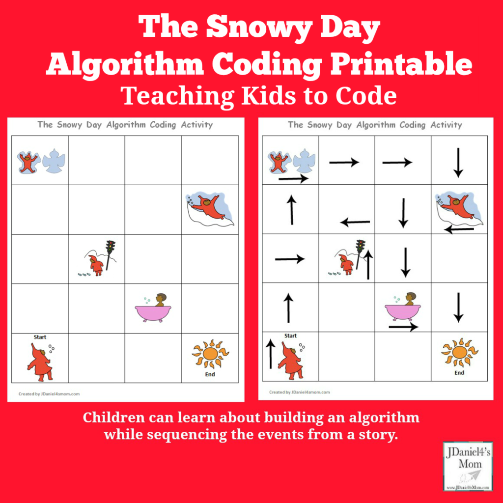 Teaching Kids To Code The Snowy Day Algorithm Coding