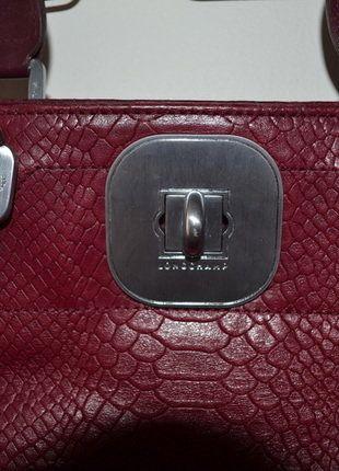56c7ebf05c6f Sac à main Rouge Longchamp intérieur à motifs   Vinted   Pinterest