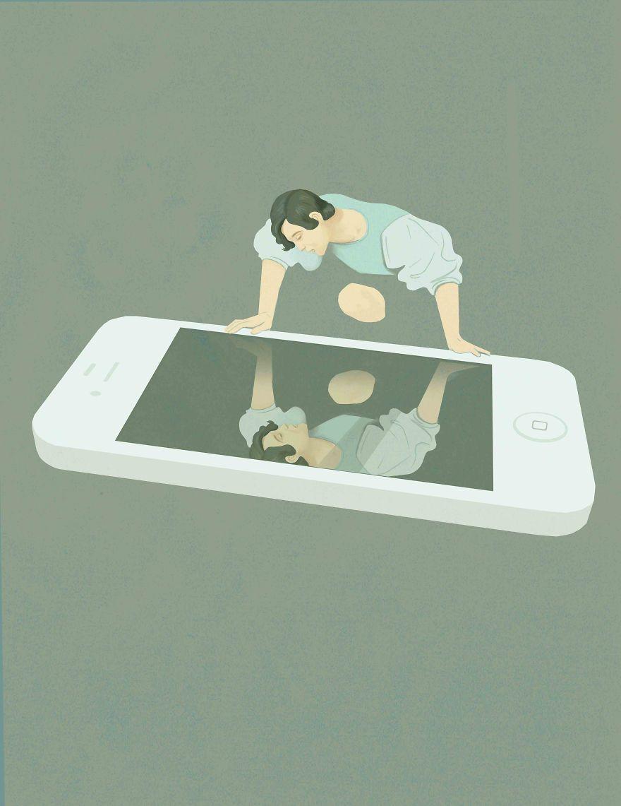 Social Media Narcissism | Illustrators, Illustrations and Freelance ...