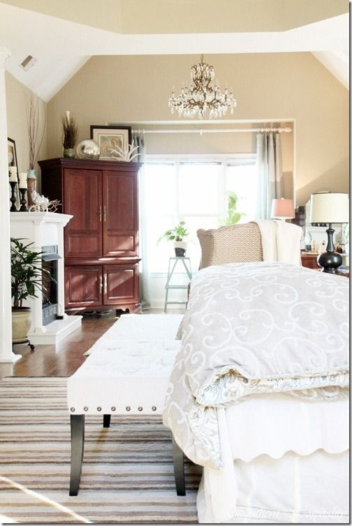 Glam Master Bedroom Source List Paint Color Ideas Interior