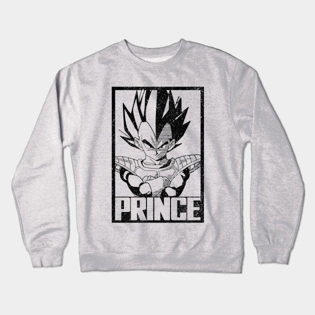 PRINCE Crewneck Sweatshirt #dbz #vegeta #anime #teepublic #tee #shirts