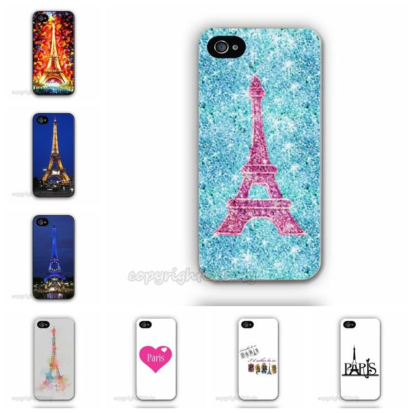 for apple iphone 5c paris saint germain eiffel tower cell phone case custom printed hard mobile. Black Bedroom Furniture Sets. Home Design Ideas