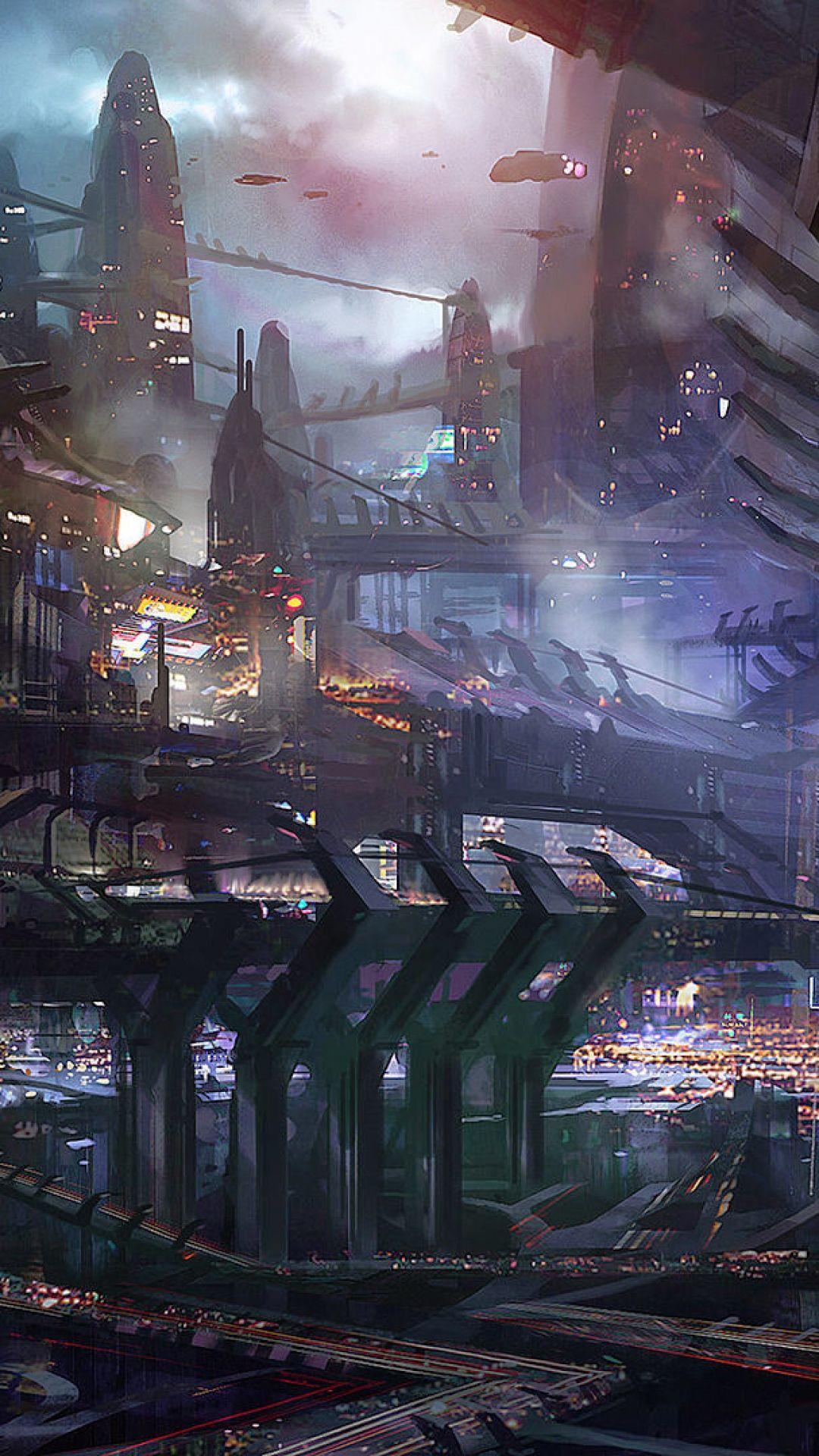☺iphone ios 7 wallpaper tumblr for ipad Sci Fi Cities