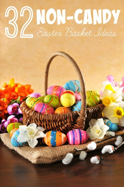 Want to reduce the amount of sweets that your kids get on easter want to reduce the amount of sweets that your kids get on easter but still want to give them a fun basket check out these 32 non candy easter basket ideas negle Images