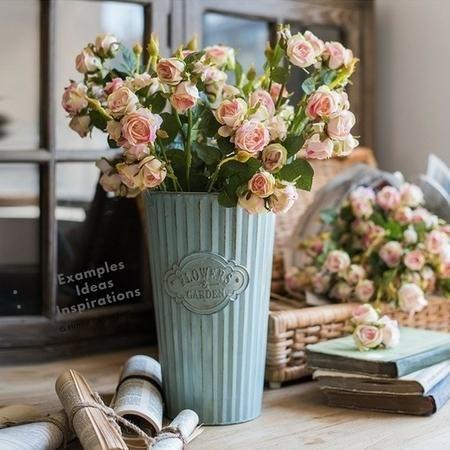 Product Pot Flower Pot X2f Decorative Pot Dimensions Amp Amp Weight Small X17 1 Quot D X 11 8 Quot Tall 0 75lb Rustic Flowers Flower Pots Rustic Pots