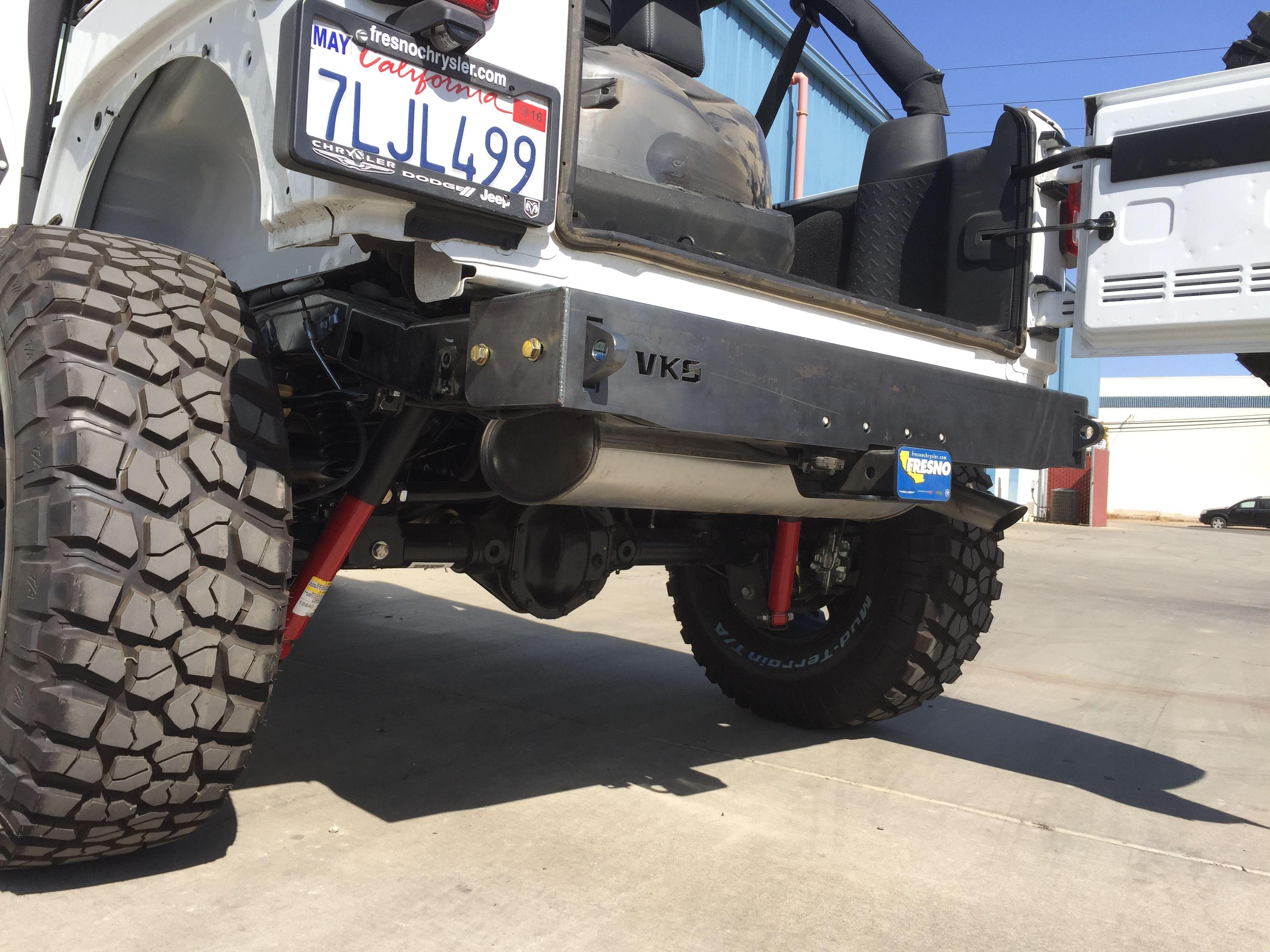 Rear Frame Cap Vks Fabrication Jeep Bumpers Jeep Gear Jeep Jk