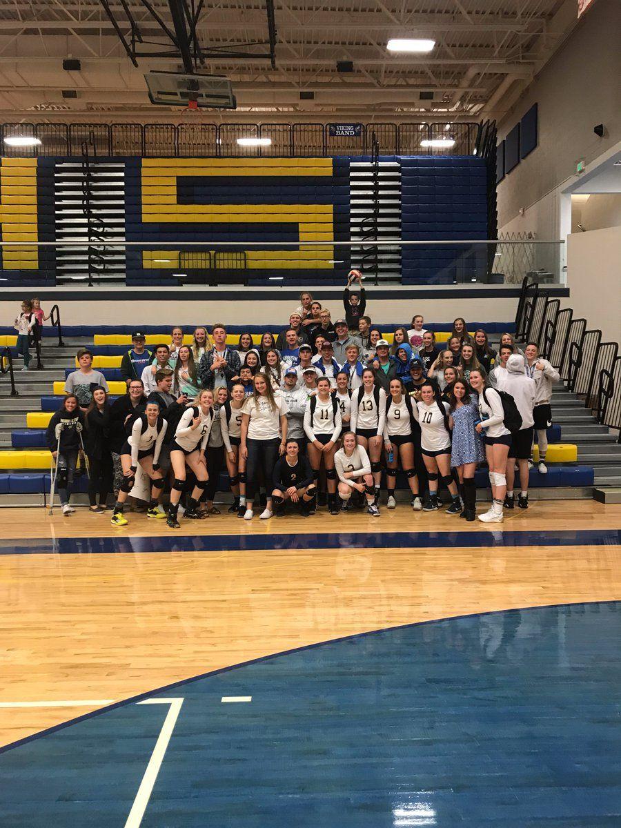 Middleton Schools On Volleyball Sports Night
