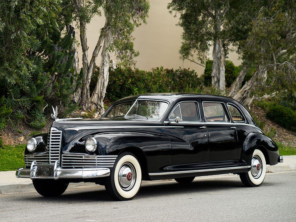 1946 -packard custom super | Packard automobiles | Antique cars
