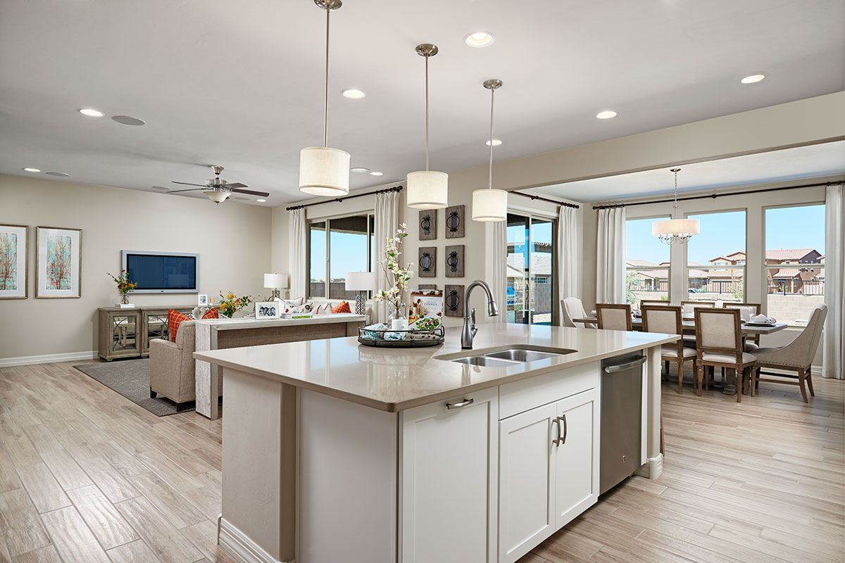 Best Open Great Room Kitchen And Dining Nook In The Coronado 400 x 300
