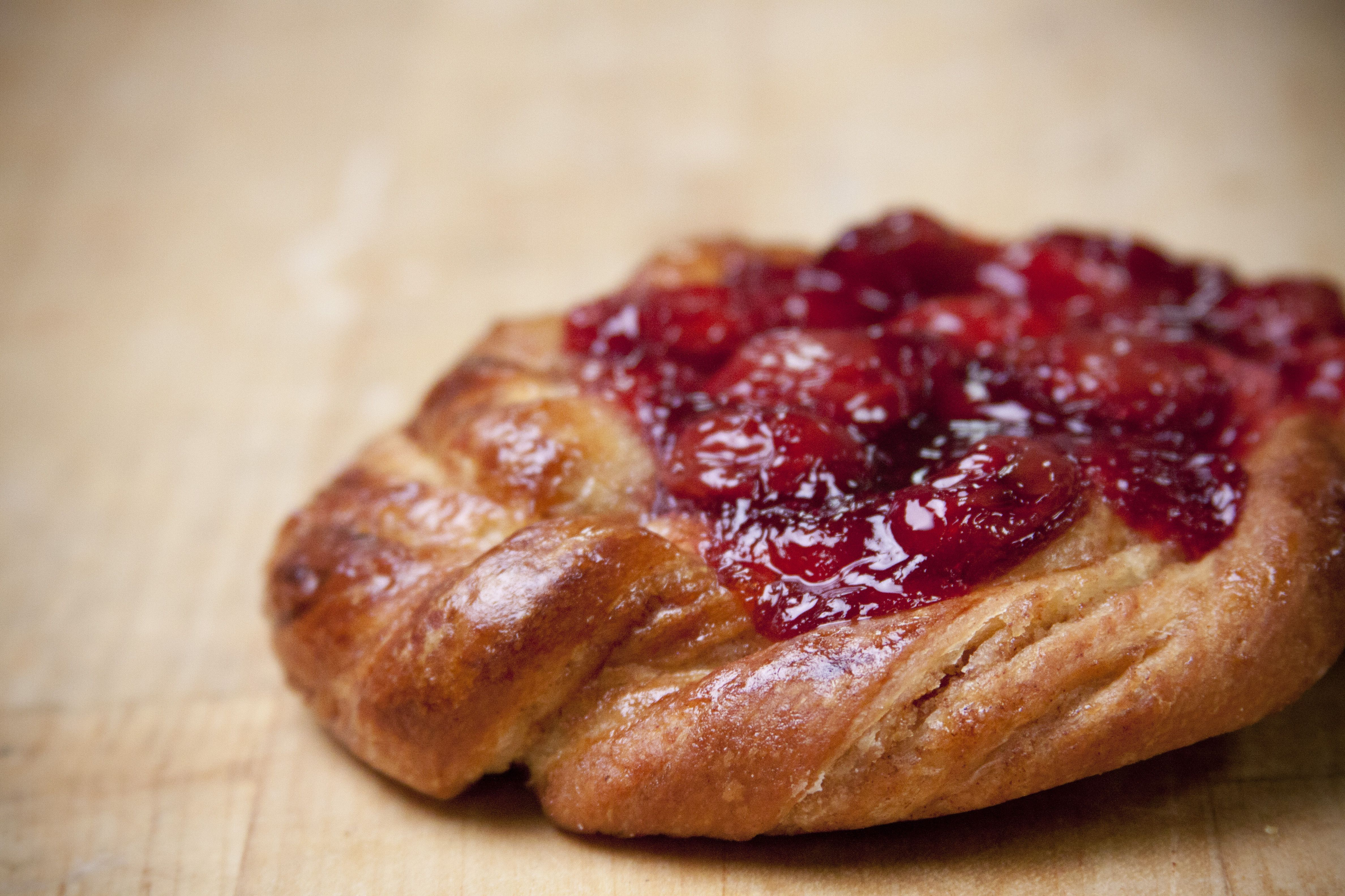 Danish with cherries? Yes, please!