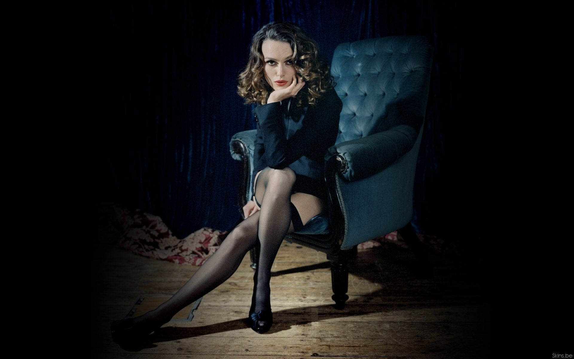 Keira Knightley  The Appeal Of Stockings And Heels -3278
