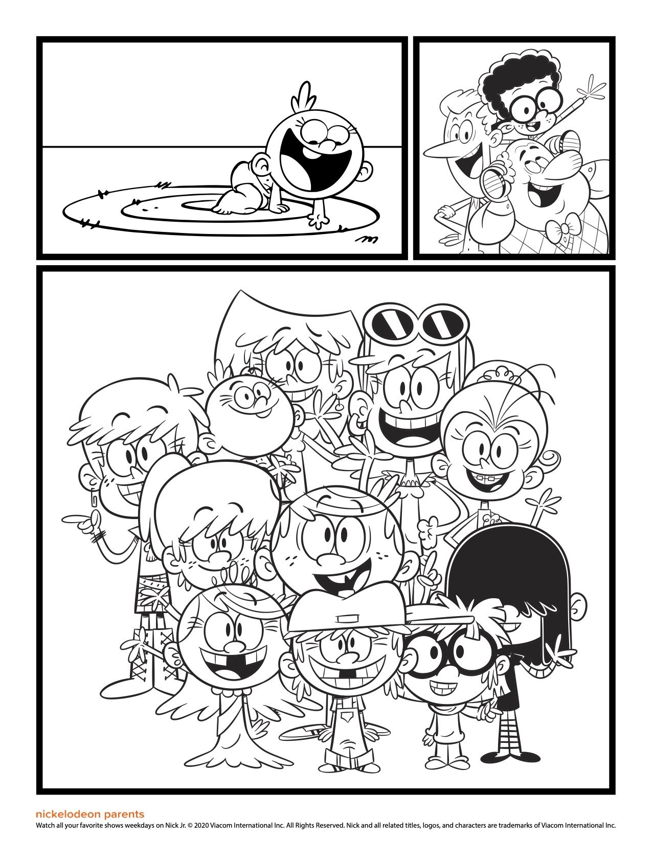 The Loud House Printable Coloring Pages Cute Coloring Pages Coloring Pages Free Printable Coloring Pages