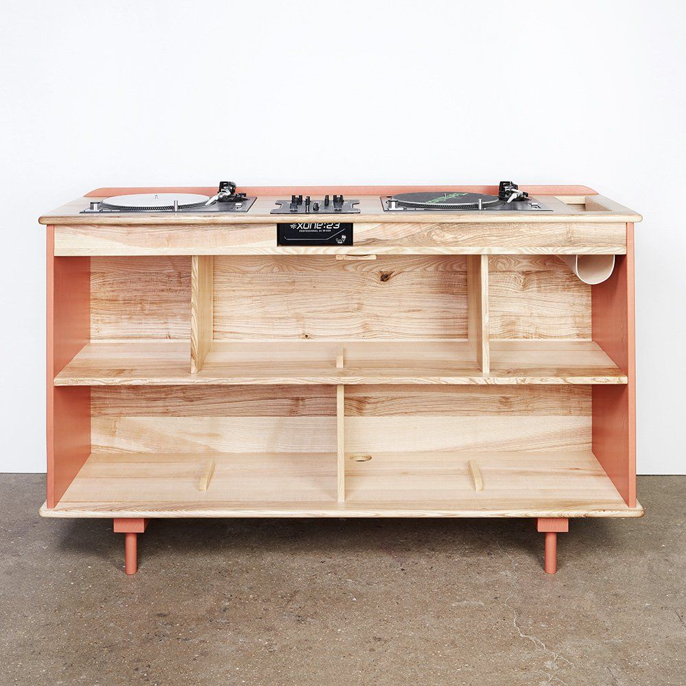meuble hifi en bois Atelier Sauvage Perabot Pinterest