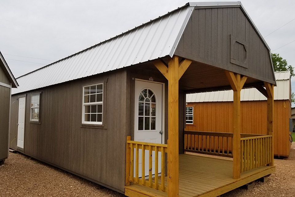 Custom Cabins Enterprise Supercenter In 2020 Shed To Tiny House Cabin Cabin Style