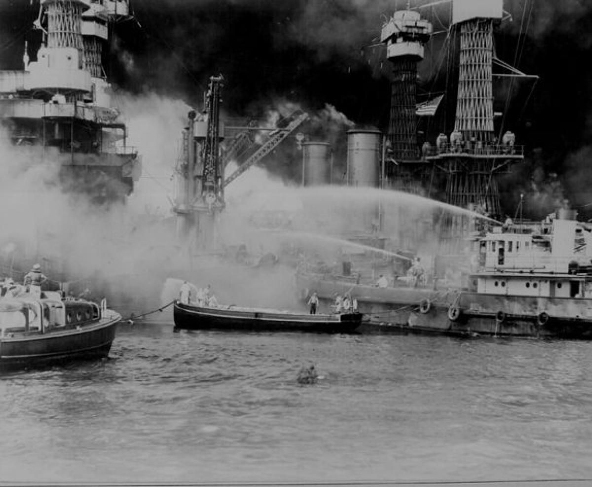 Attack On Pearl Harbor Photos Pearl Harbor 75 Years Later
