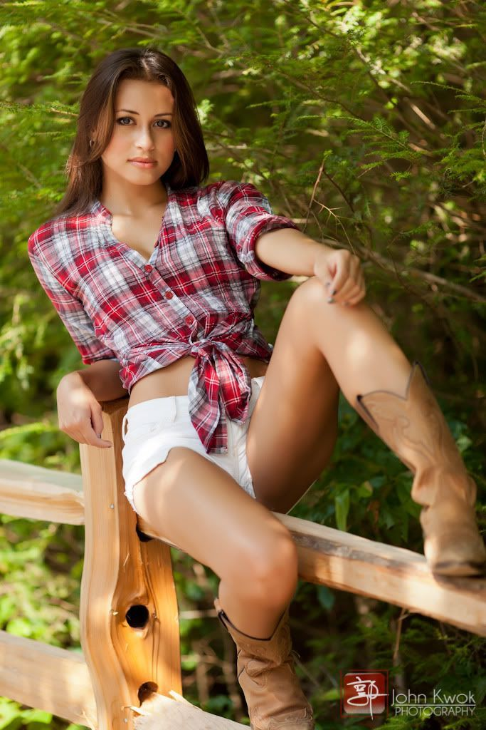 Naked girls in cowboy boots-6810
