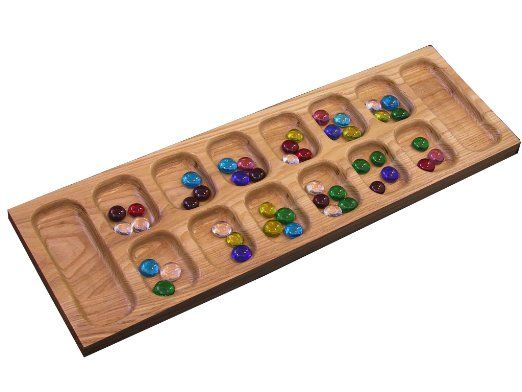 Mancala is a traditional Ethiopian game- great gift for when his is older |  Best family board games, Family board games, Board games