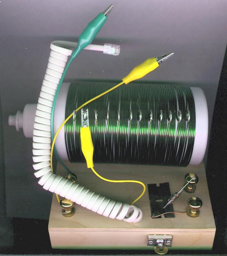 Building a Homemade Radio: Directions for building a crystal