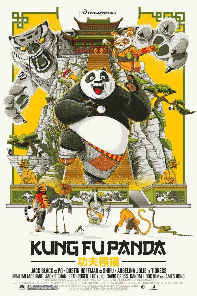 Kung Fu Panda 2017 800 X 1000 Posteres Retro Caricaturas Divertidas Poster De Peliculas