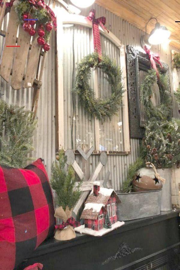 33 American Farmhouse Christmas Decor Ideas - Hello Lovely ...