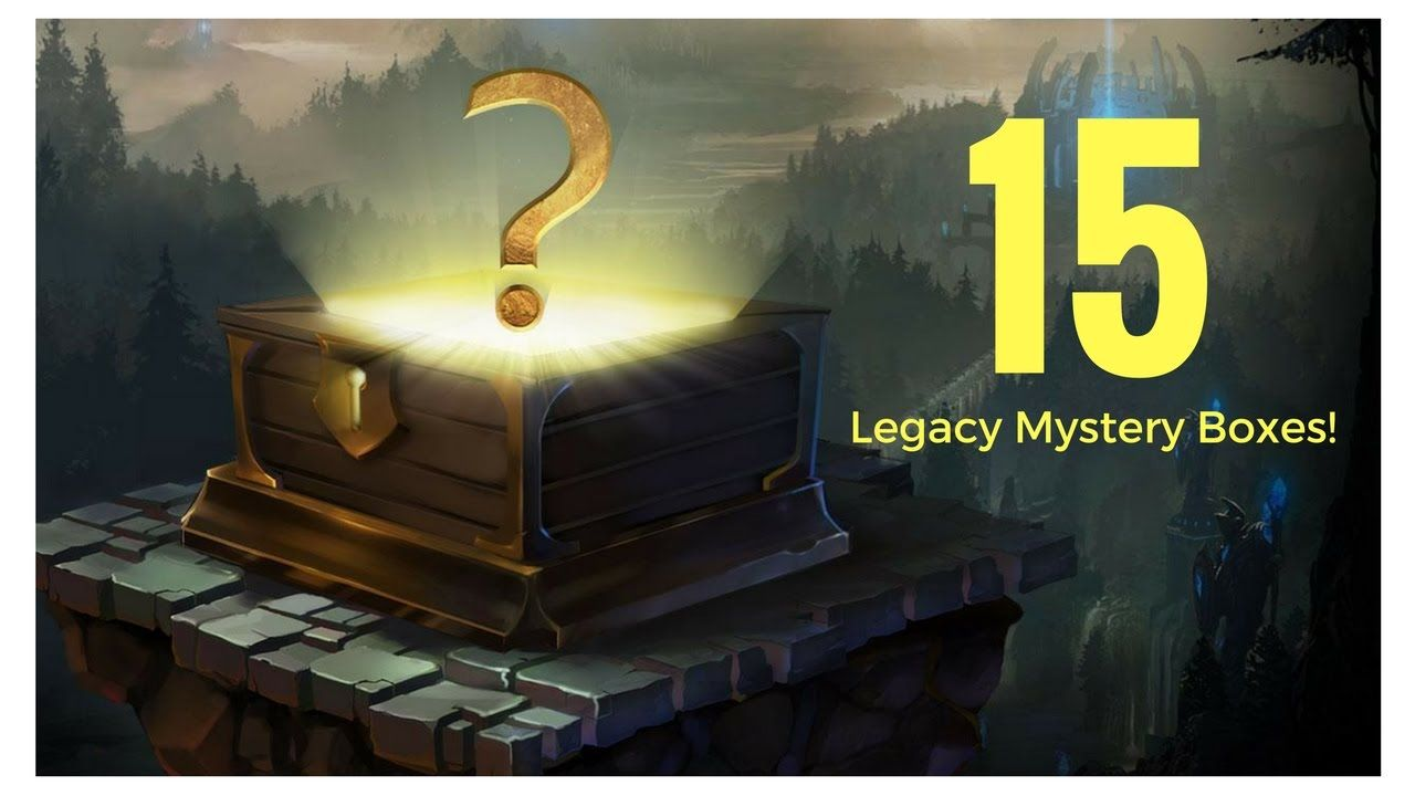 Opened 15 legacy mystery boxes this morning httpsyoutube mystery box buycottarizona