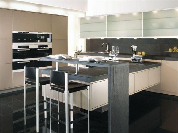 Koch Insel Theke Modulküche planen Design Ideen Küche - bar für küche