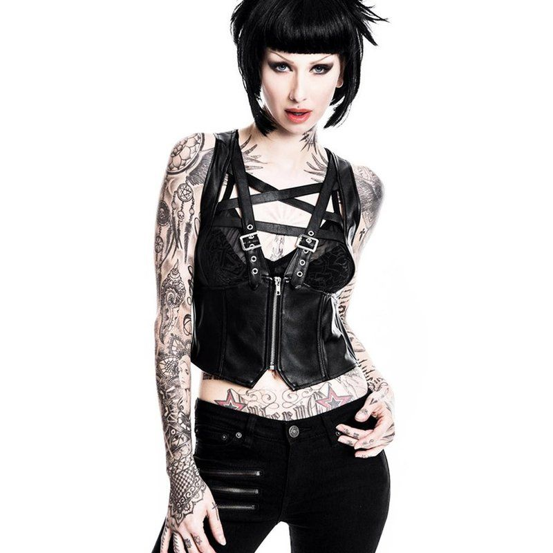 Killstar Harness Top - No Mercy