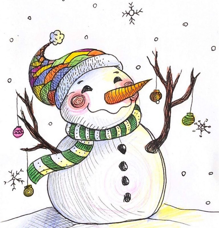 15 Christmas Drawing Ideas For Beginners Step By Step 2020 Do It Before Me Christmas Drawing Christmas Tree Drawing Drawings