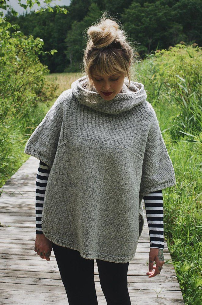 Sheltered Knitting pattern by Andrea Mowry