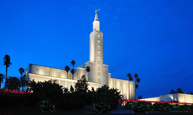 Los Angeles California Los Angeles California Lds Temples Mormon Temples