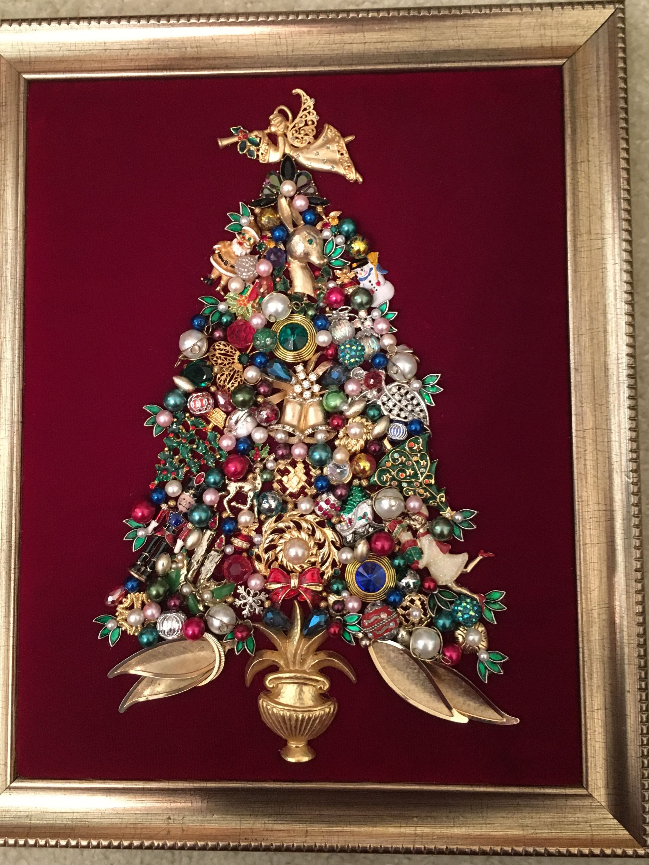 Jewelry Christmas Tree by Donna Brusco 2016   Jewelry Crafts by ...