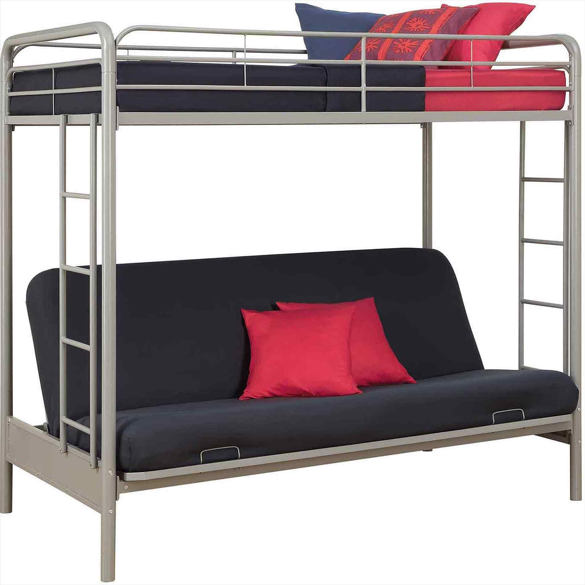 Futon Bunk Beds For Adults Bunk Bed With Double Futon Underneath