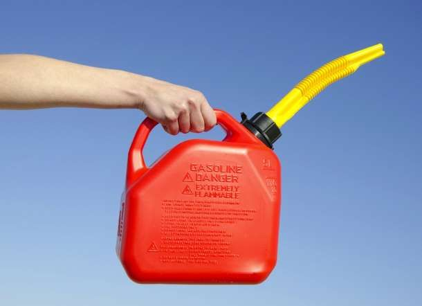 The Best Way To Get Rid Of Old Gasoline Is To Use It In Small