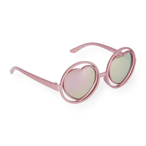 7a6bbf1ba2ab Toddler Girls Round Heart Sunglasses | The Children's Place ...