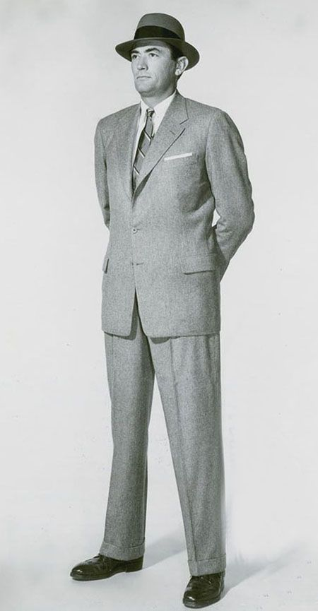 Early 1950s Mens Suits