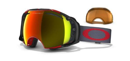 ab47eaac9e1 Oakley Airbrake Goggle Viper Red Fire Iridium Persimmon    Find out more  about the great