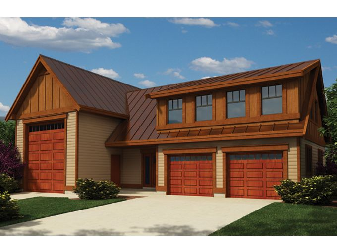 Traditional Style House Plan 0 Beds 0 5 Baths 2305 Sq Ft Plan 118 128 Garage With Living Quarters Garage Apartments Apartment Plans