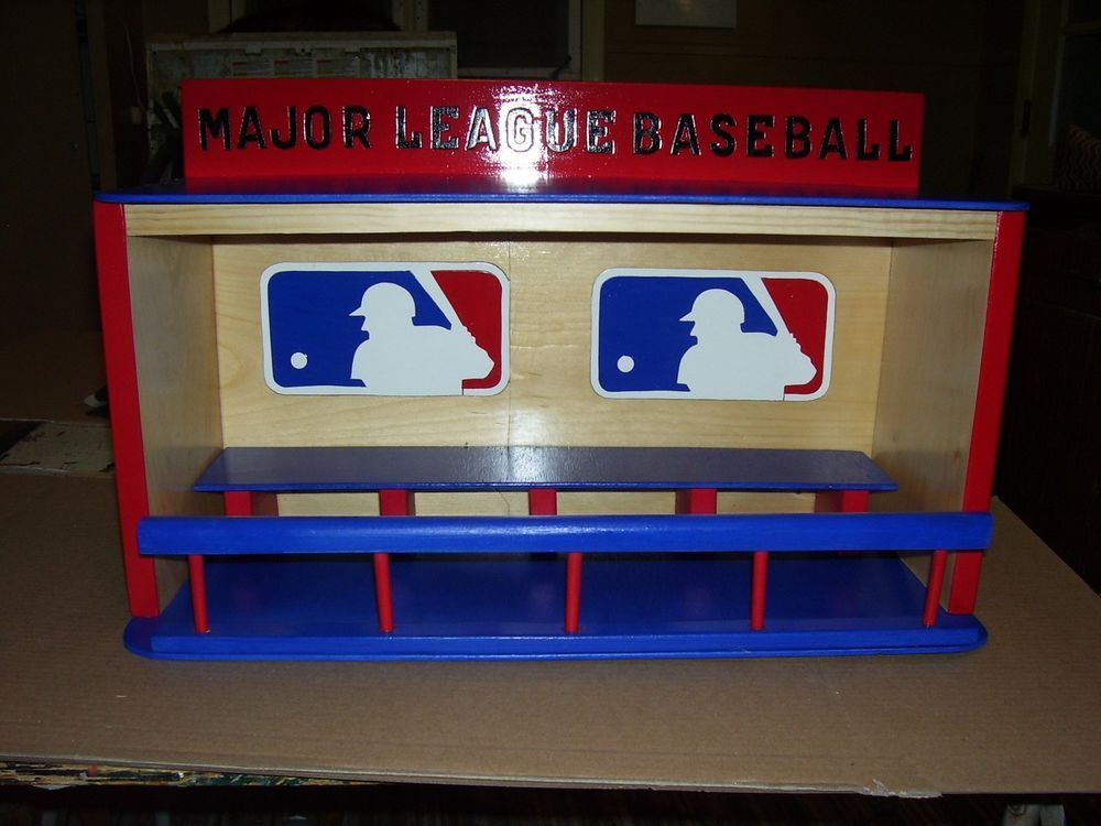 MAJOR LEAGUE BASEBALL display case for bobbleheads Dugout