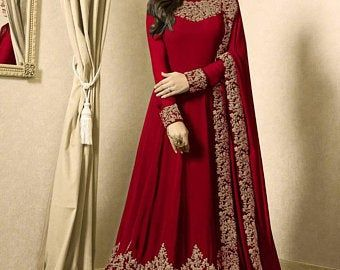Photo of Black colore designer Pakistani wedding dress indian wedding dress exclusive dress embroidery work gown anarkali gown long gown