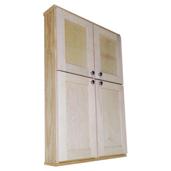Shaker Series 42 Inch Double Door Wall Cabinet Kelly