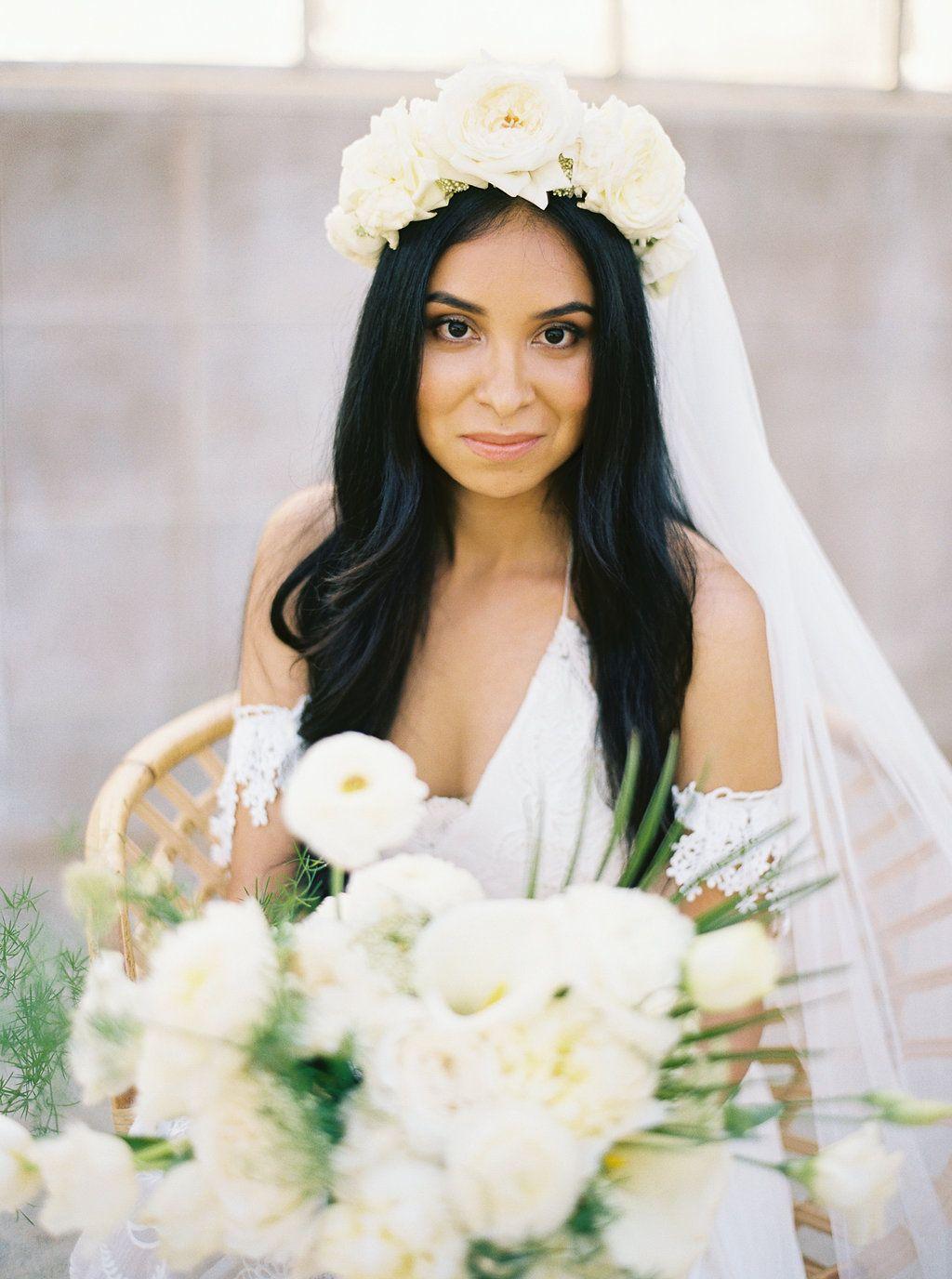 Tulum Inspired Wedding With White + Rattan Wedding