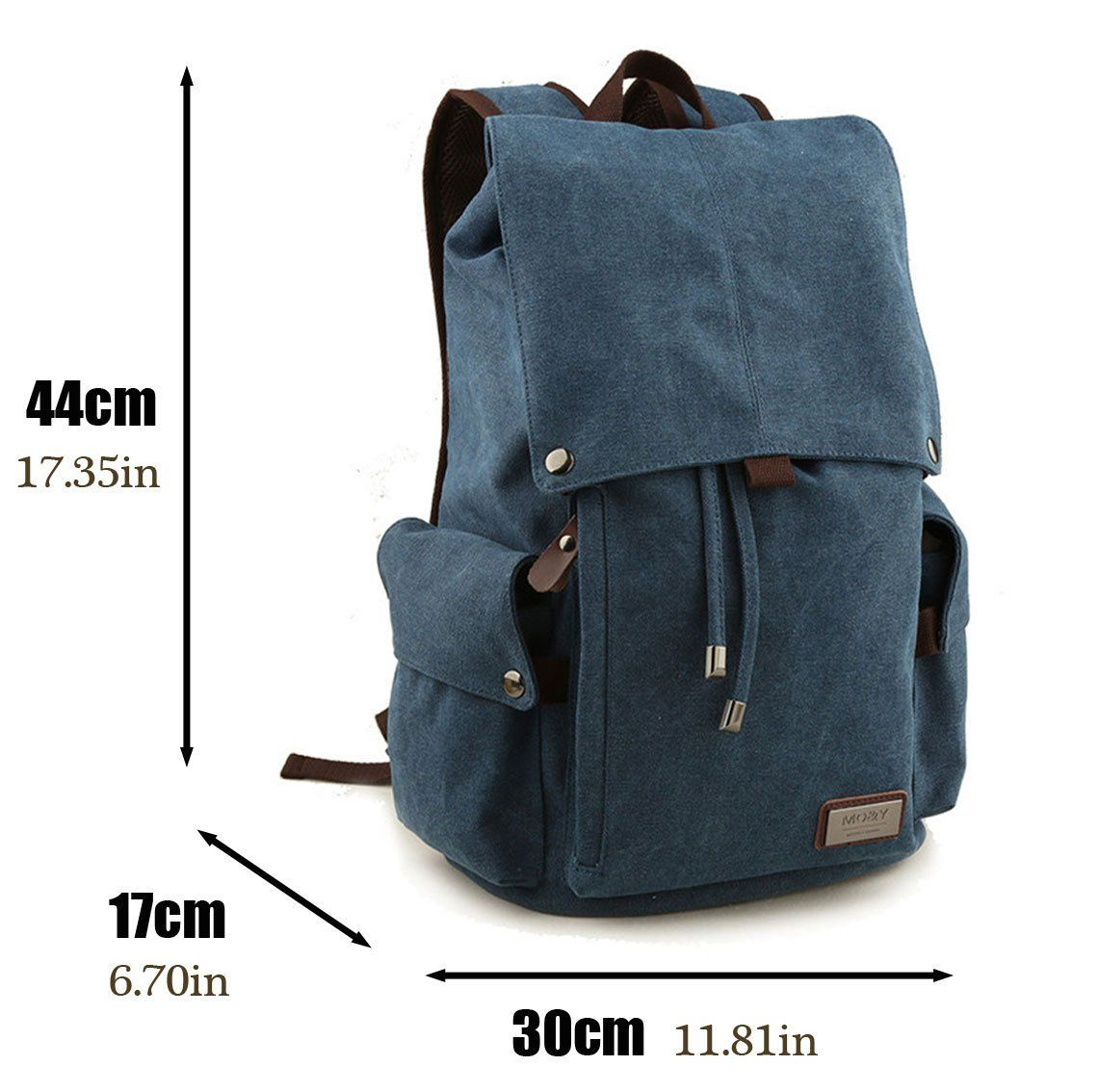 Mo Y Vintage Backpack Rucksack Casual Daypacks Bookbags