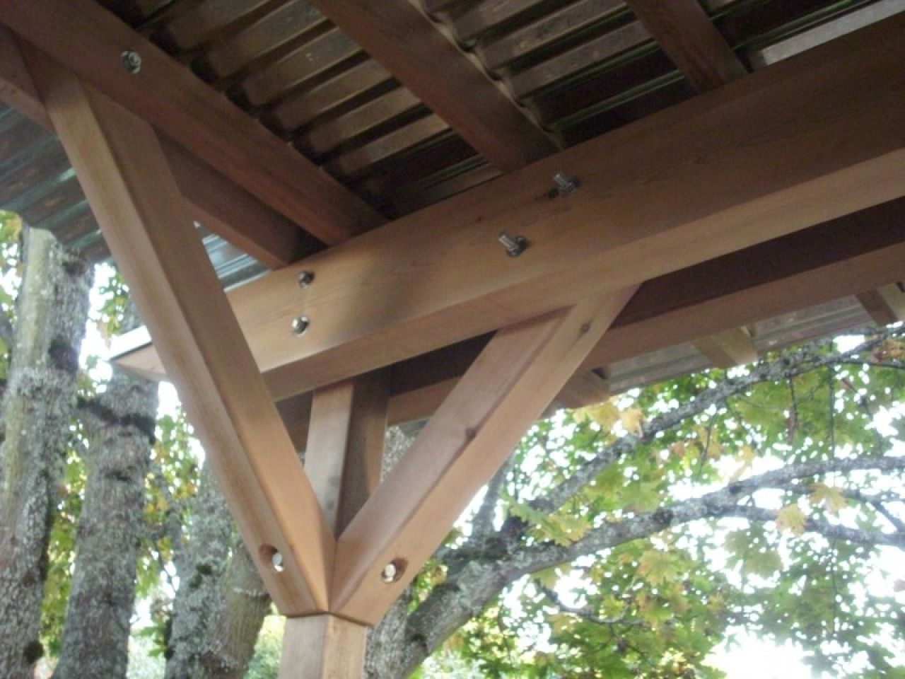 Corrugated Metal Roof Patio Cover Corrugated Steel Roof