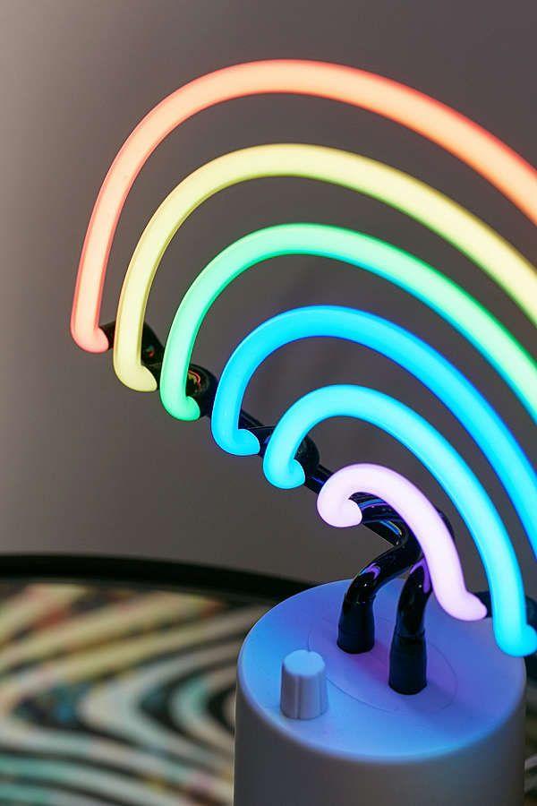 Sunnylife Rainbow Neon Sign Table Lamp | Table lamp, Neon