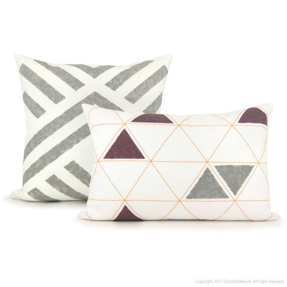 Aztec pillow cover Geometric pillow by ClassicByNature on Etsy