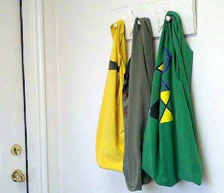 recycling t-shirt bags