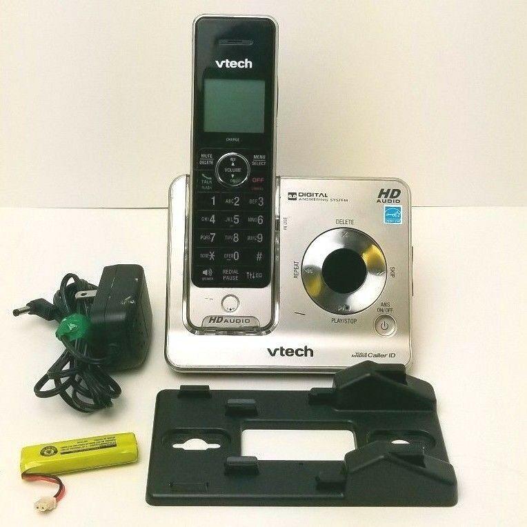 Vtech Digital Answering System Base Handset W Ac Adapter Wall Mount Vtech Handset Vtech Cordless Telephone