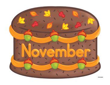November Birthday Cake Clip Art | Birthday cake clip art ...